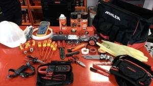 herramientas de electricidad