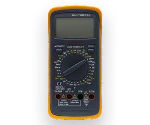 polimetro con termómetro