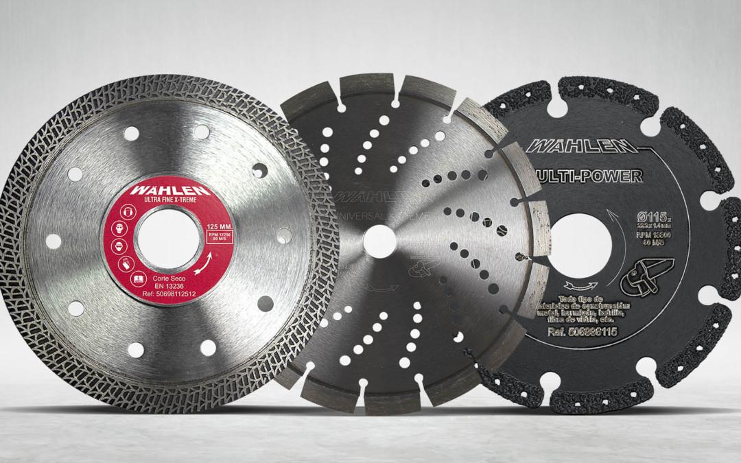 Discos de diamante, tipos y usos para la obra