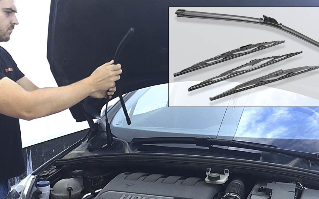 Cómo cambiar las escobillas limpiaparabrisas del coche