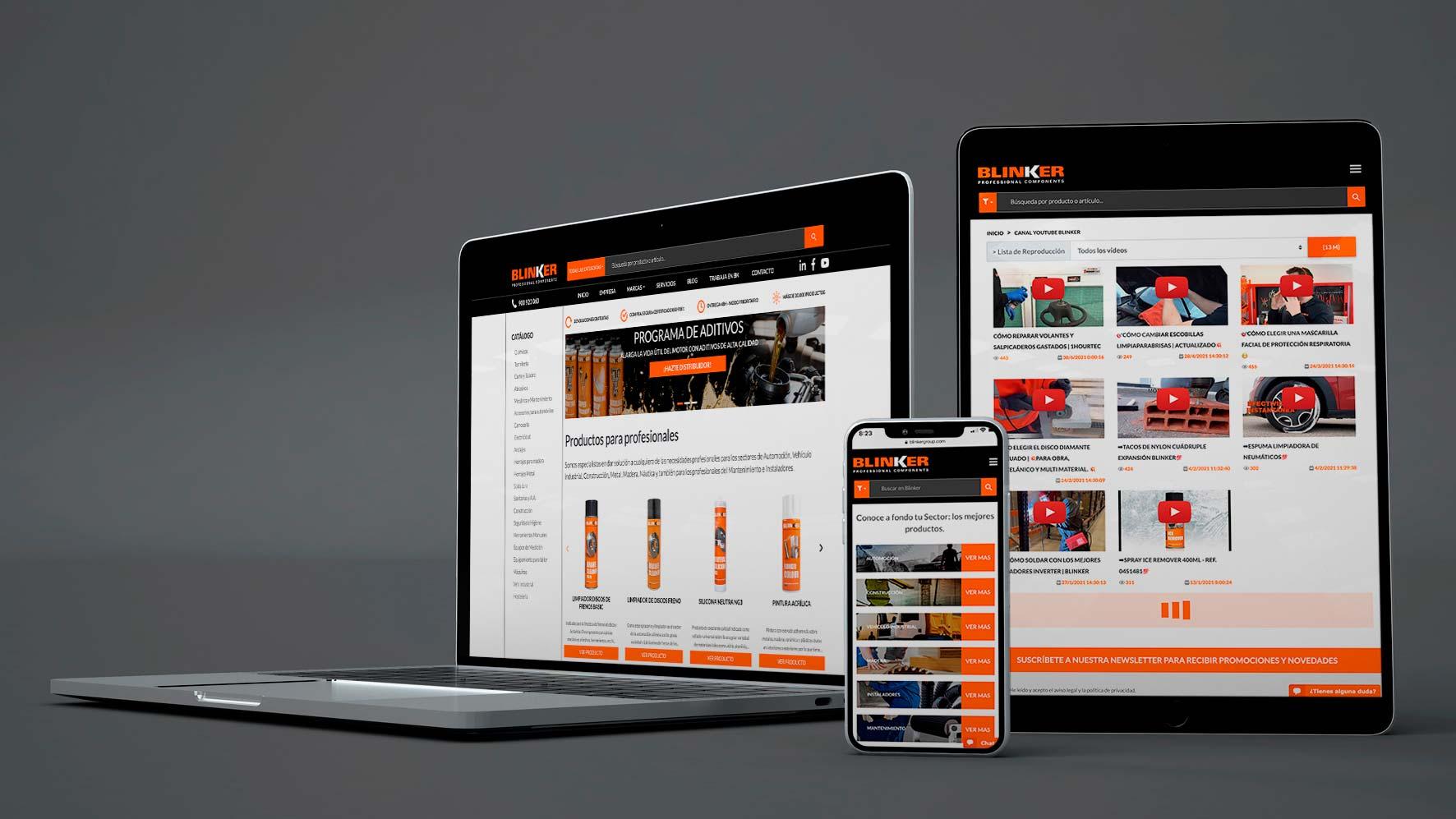 Mejoramos nuestra web para optimizar tu tiempo
