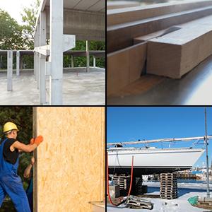 Diferentes aplicaciones de adhesivos y pegamentos para madera