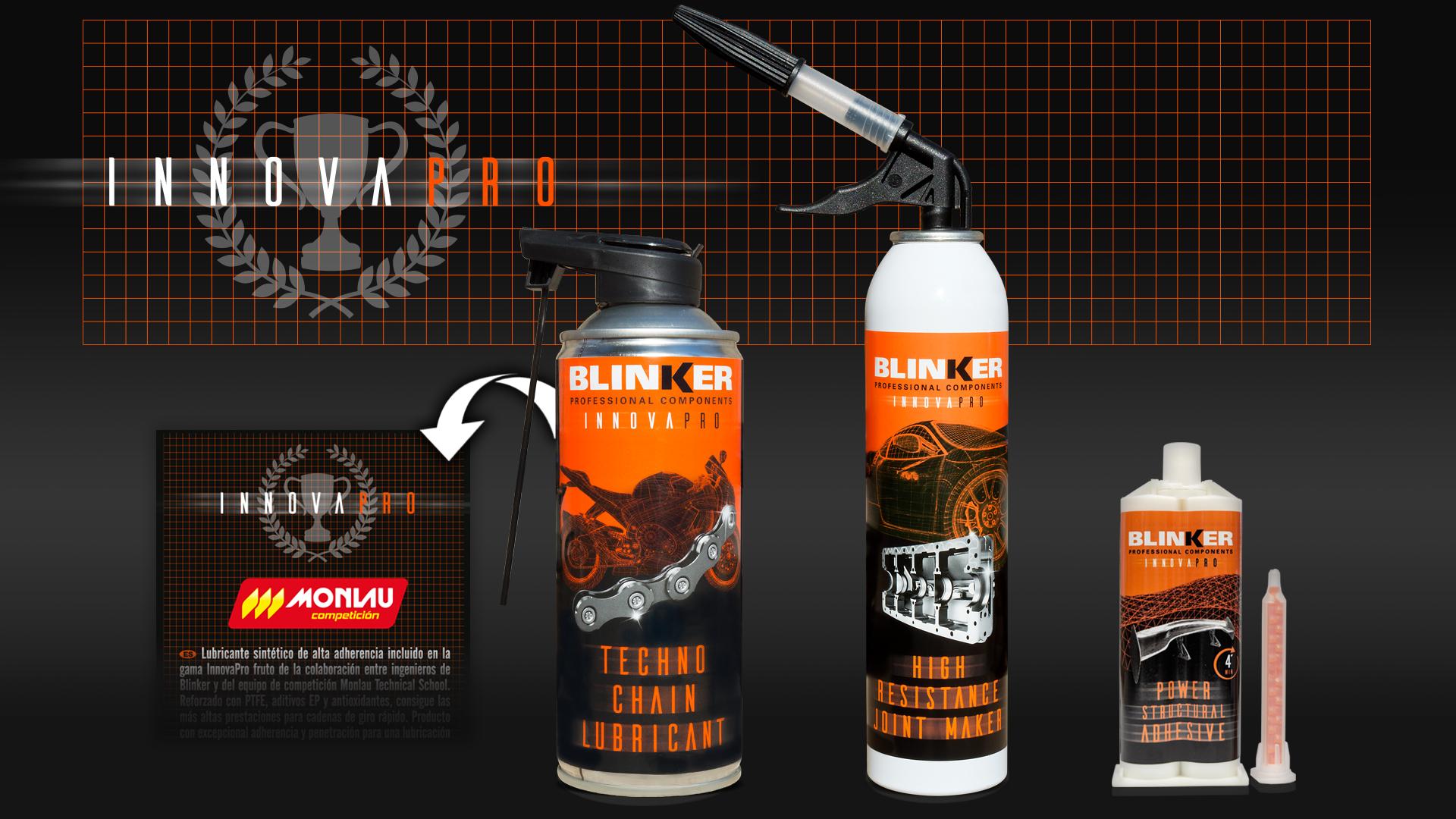 InnovaPro, la nouvelle gamme de produits Blinker testés en haute compétition