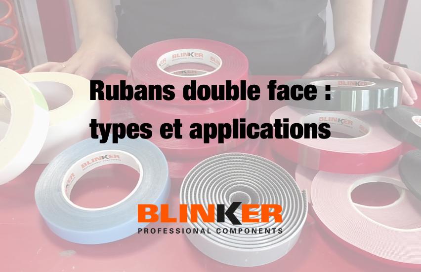 Rubans adhésifs, types et applications (PARTIE 2)