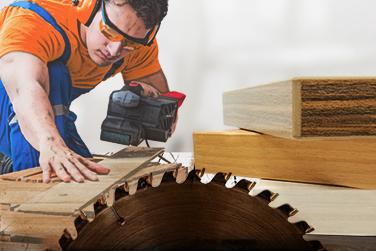 setor de madeira Blinker