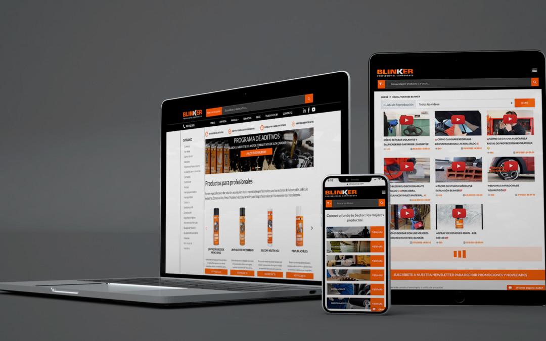 Une nouvelle page web pour une meilleure expérience Blinker !